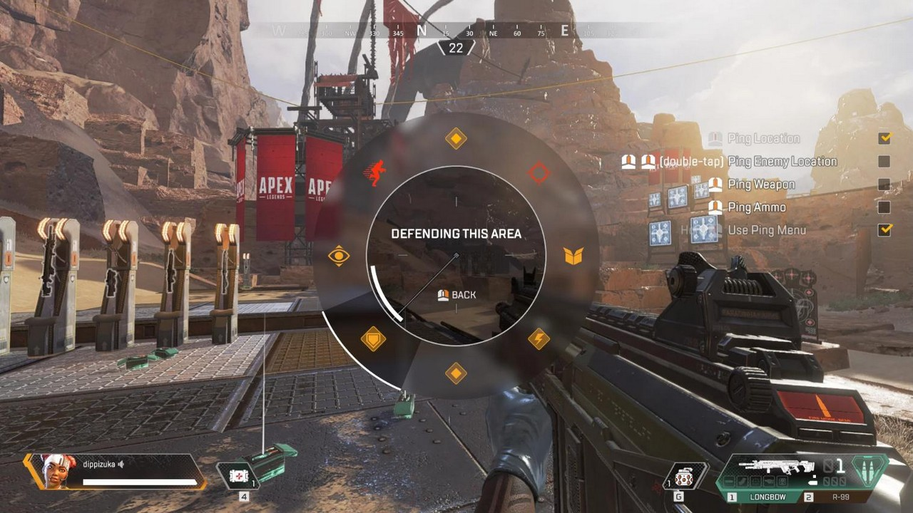 hệ thống ping apex legends